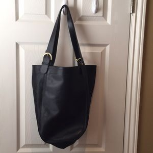 Coach - Navy Large Tote